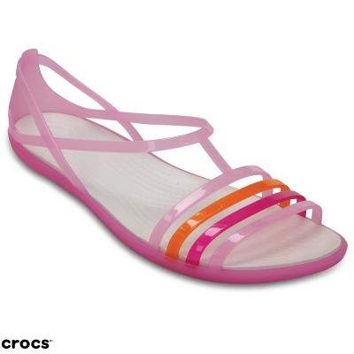 Crocs卡駱馳(女) 伊莎貝拉夏日涼鞋-202465-6N6