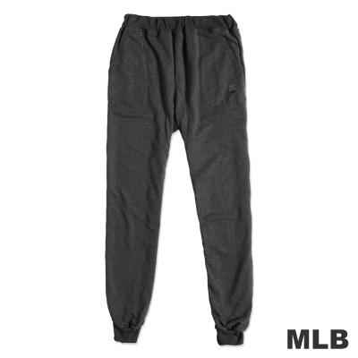 MLB-紐約洋基隊運動薄長棉褲-深麻灰(男)
