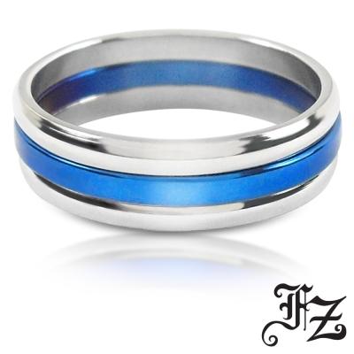 FZ 摯愛光圈白鋼戒指(戒圍可選)