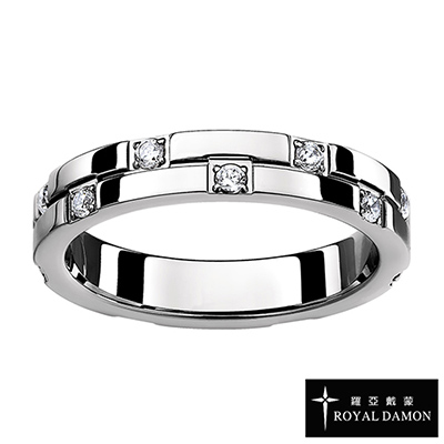 Royal Damon羅亞戴蒙 戒指 燦爛無比(小)