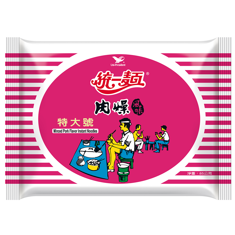 統一麵 肉燥風味特大號袋(30入/箱)