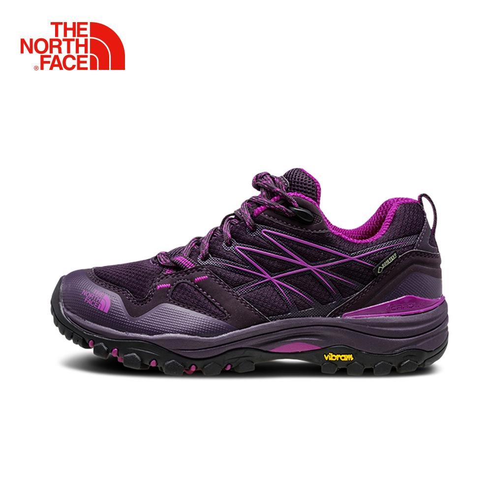 The North Face北面女紫色防水透氣徒步鞋