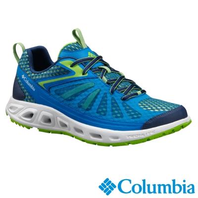 【Columbia哥倫比亞】男-水陸兩用鞋-藍色 UBM45260BL