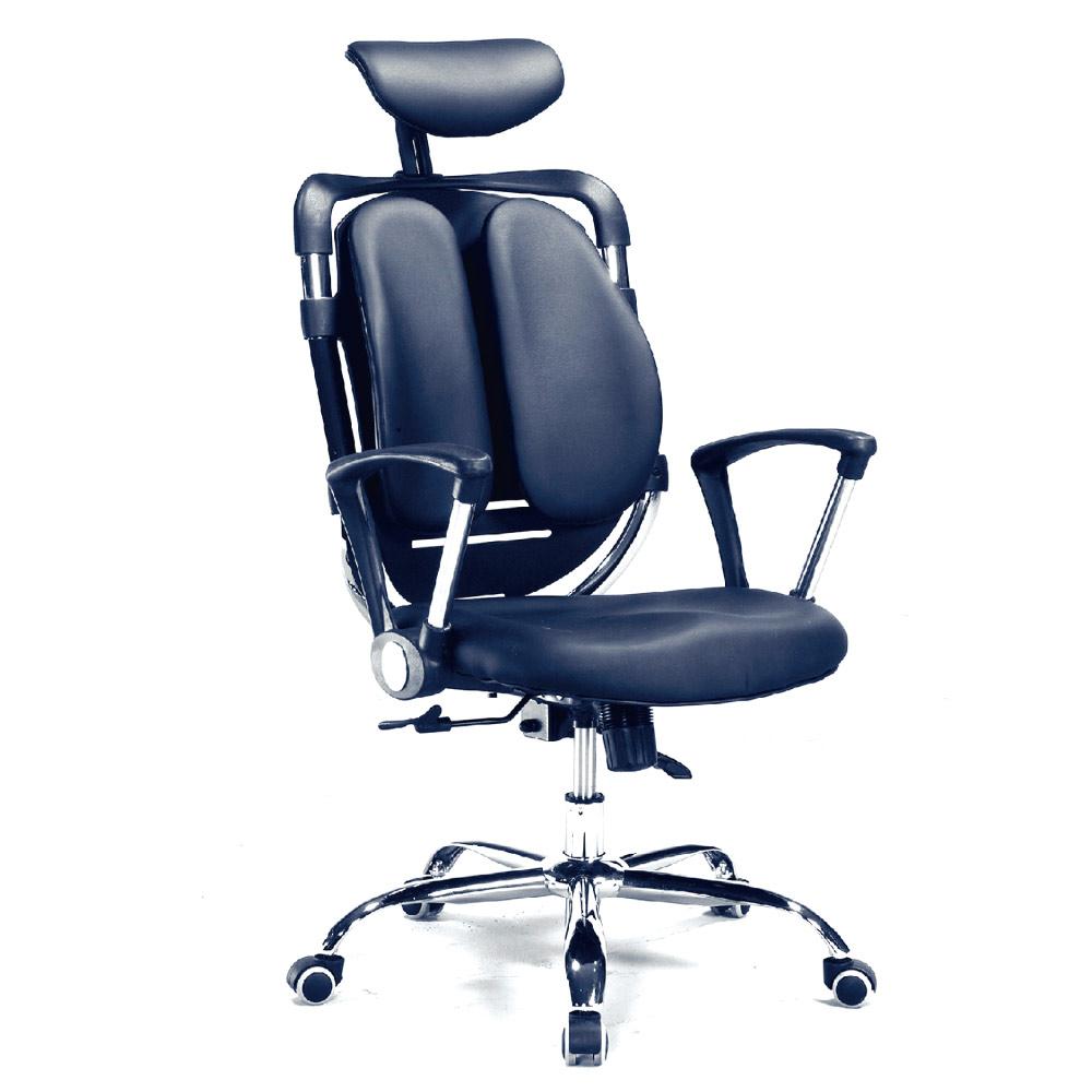 GD綠設家 易美皮革多功能主管椅/辦公椅-62x76x105cm免組