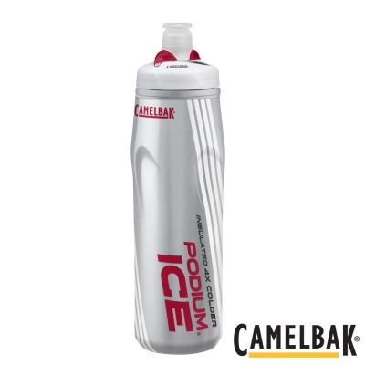 《CAMELBAK》ICE酷冰加大保冷噴射水瓶 火紅620ml(CB1302601062)
