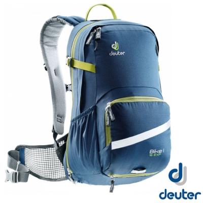 【德國 Deuter】Buke 1 Air EXP 16L 自行車網架透氣背包_極藍/綠