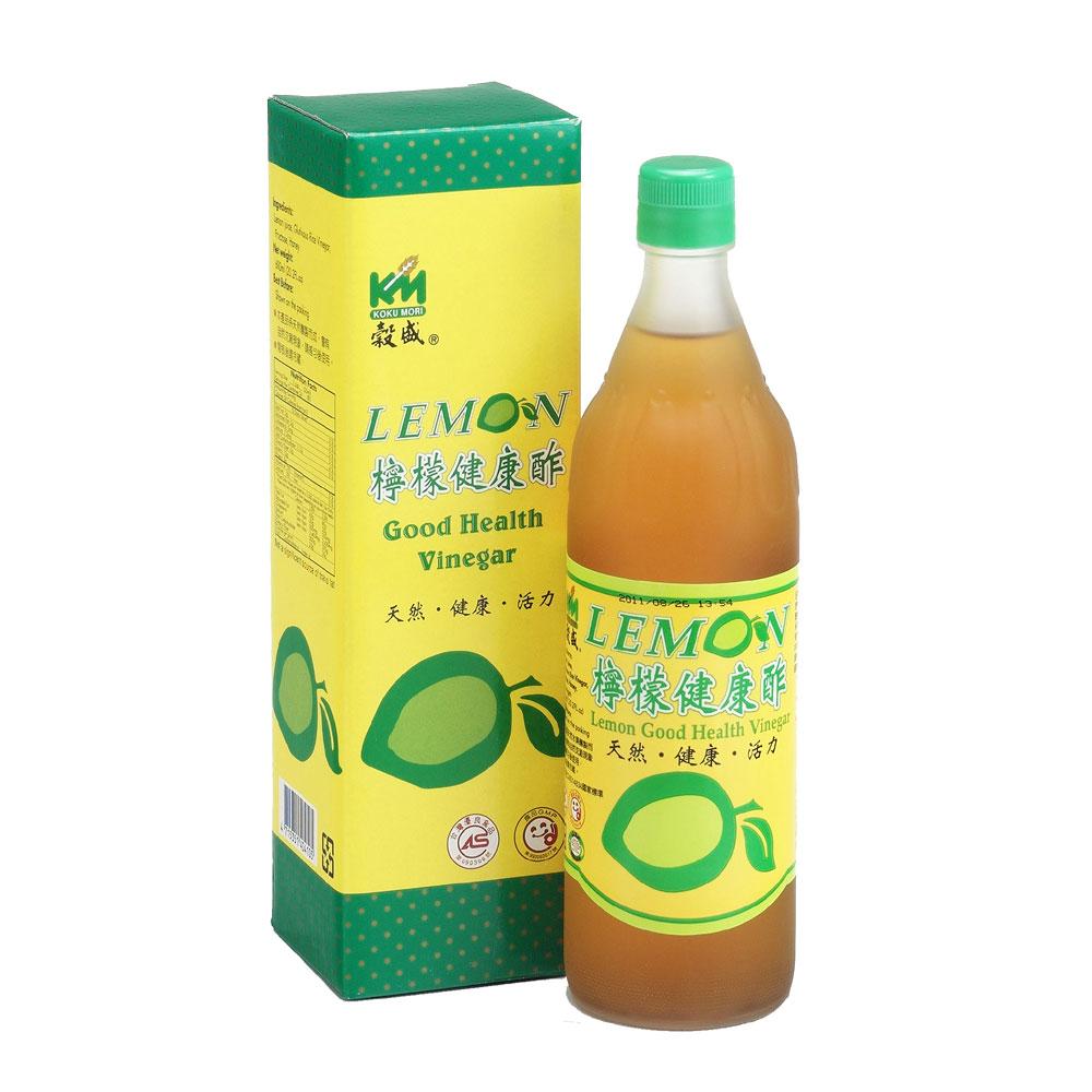 穀盛 檸檬健康醋(600ml)