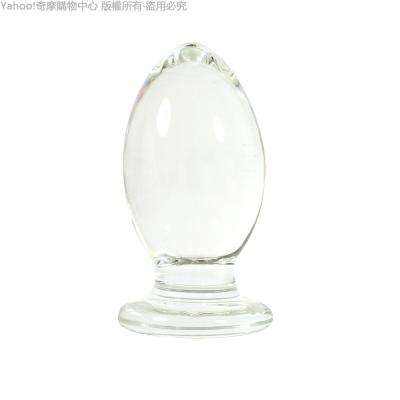 GLASS 重量級 甜心妖精 肛塞 玻璃水晶後庭冰火棒 Anus 46(快速到貨)