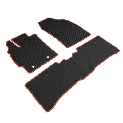 神爪 卡固平面專用型黑踏墊 彩色包邊 B款