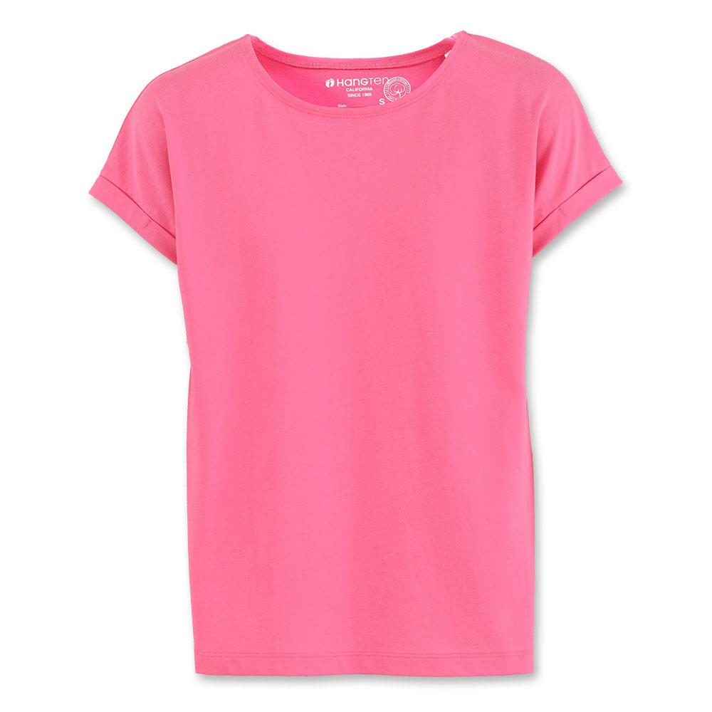 Hang Ten -女裝- 有機棉繽紛多彩T-Shirt- 紅