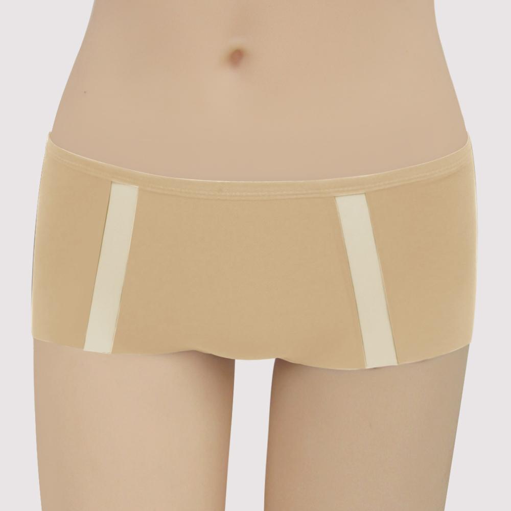 瑪登瑪朵 浪漫法式無痕  低腰平口無痕內褲(暖意膚)