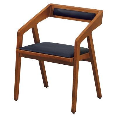 品家居 可娜實木餐椅-54x47x74cm-免組