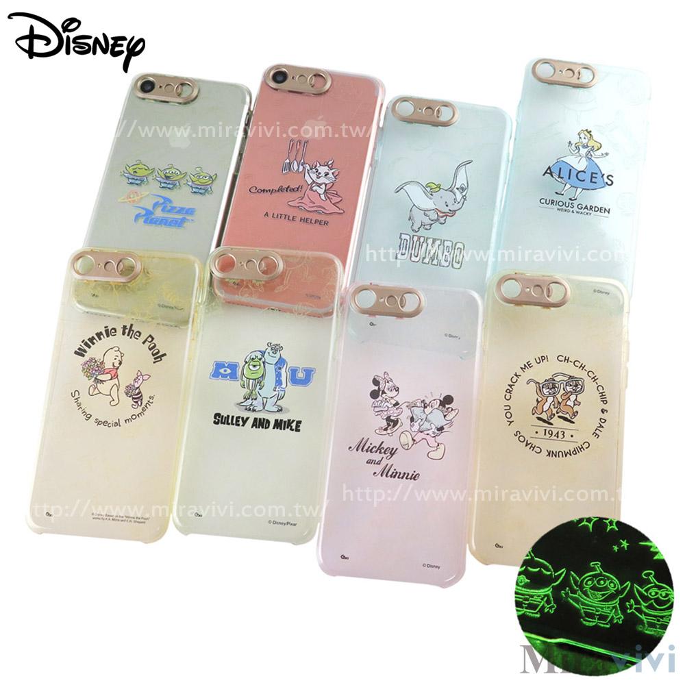 Disney迪士尼iPhone 8/7(4.7吋)雷雕閃光彩繪保護殼