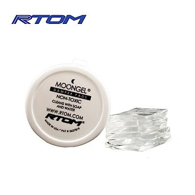 RTOM MoonGel  鼓用吸音貼 透明六片裝款