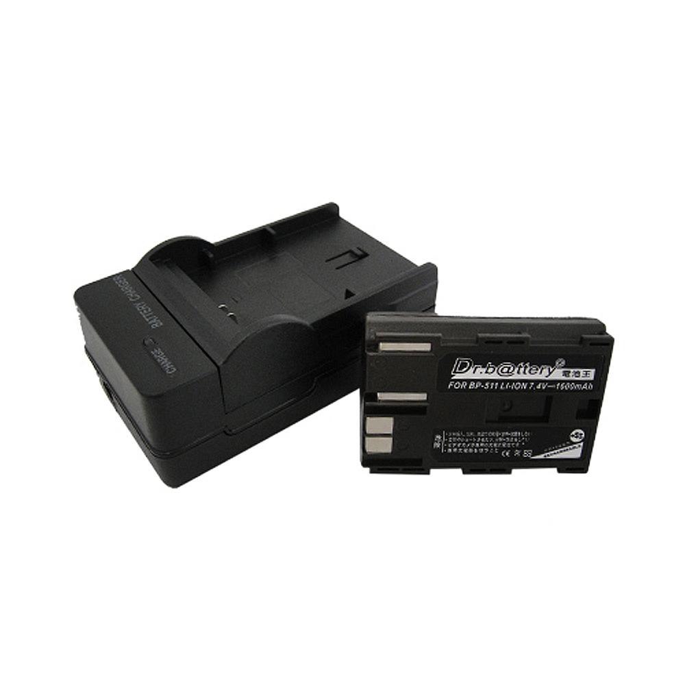 電池王 CANON BP511/BP512/BP514 高容量鋰電池+充電器組
