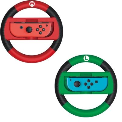 HORI Nintendo Switch 方向盤 (瑪利歐&路易吉) 二入組