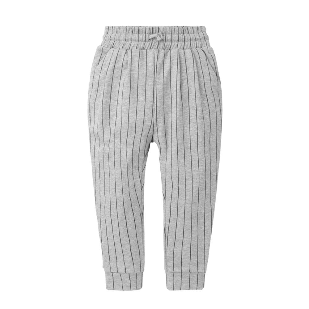 baby童衣 知性直條紋打摺束口長褲 70093