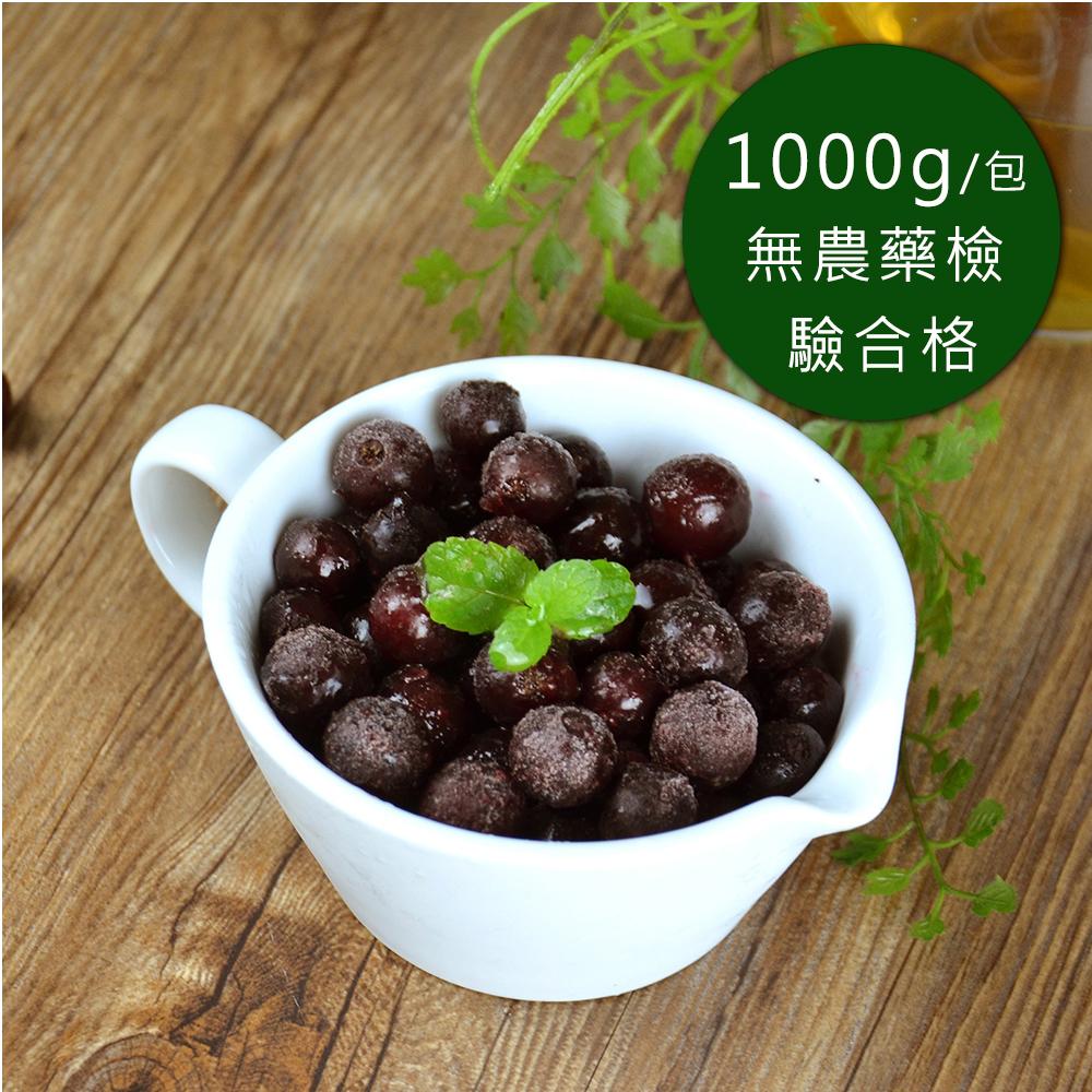 (任選880)幸美生技-冷凍黑醋栗(1000g/包)