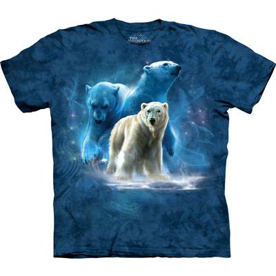 [摩達客]美國進口The Mountain北極熊群T