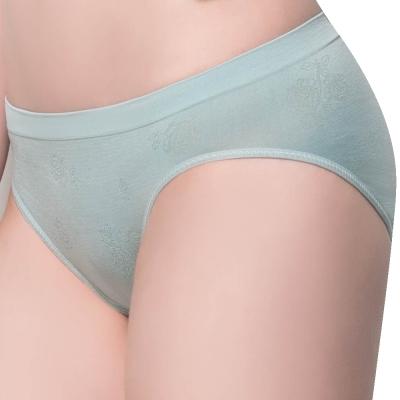 思薇爾 無痕美人系列M-XL素面低腰三角褲(蘊灰色)
