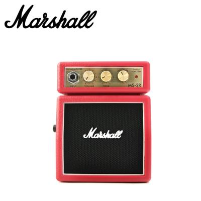 MARSHALL MS2 RD 吉他小音箱 紅色款
