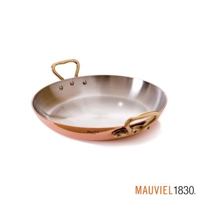 法國Mauviel-紅銅雙耳淺鍋-直徑16cm