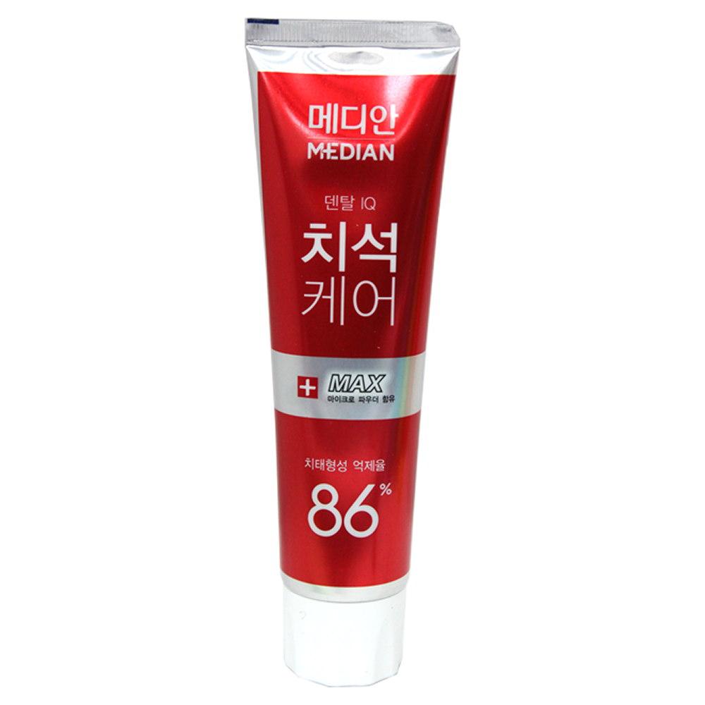 韓國Median 86%強效淨白去垢牙膏-綠茶(120g)