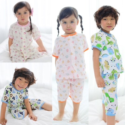 baby童衣 兒童套裝 薄涼透氣卡通居家服 51008