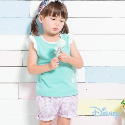 麗嬰房 Disney Baby 米妮小飛袖女孩上衣 果綠