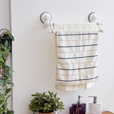 IKLOO宜酷屋 不鏽鋼雙桿毛巾架 TACO無痕吸盤系列