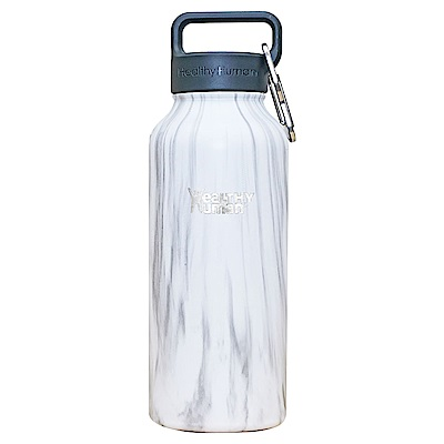 Healthy Human寬口不鏽鋼保冷保溫瓶946ml-石白色