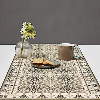 以色列穆妮薩-桌墊(長)-漾灰蔓藤