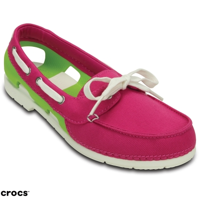 Crocs-卡駱馳-女-海灘帆船帆布鞋-20010