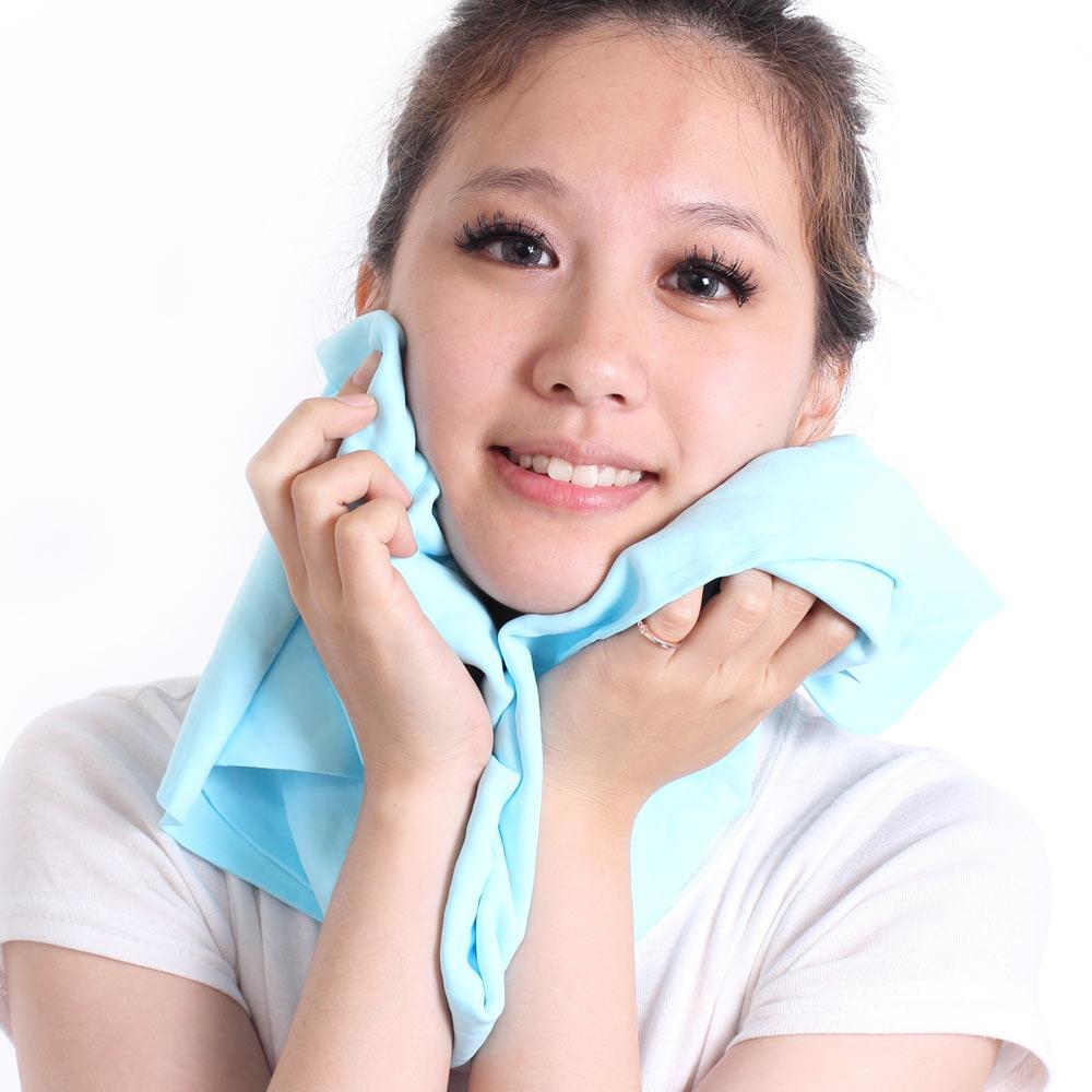 【夏日優惠2件組】Clover 瞬間涼感多用途冰涼巾(大毛巾)-共4色
