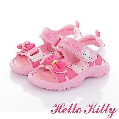 HelloKitty童鞋 輕量減壓休閒涼鞋-粉