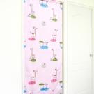 布安於室-動物天堂遮光風水簾-粉色