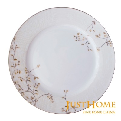 Just Home 香榭高級骨瓷8吋餐盤4件組