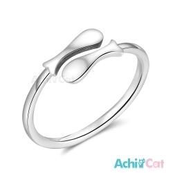 AchiCat 925純銀戒指尾戒 悠遊雙魚