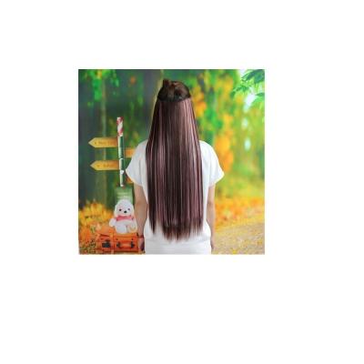 狐狸姬 髮片一片無痕接髮片造型假髮髮片(直髮)