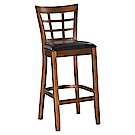H&D 仿古色高吧椅 (寬43X深49X高108cm)
