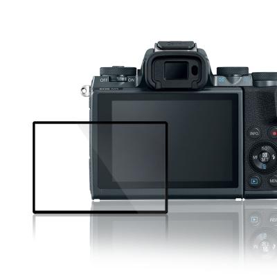 LARMOR 防爆玻璃靜電吸附相機保護貼-Canon EOS M5專用