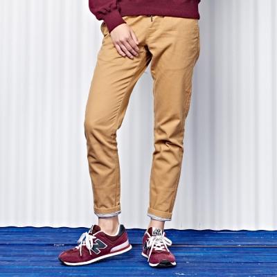 羅紋配布工長褲-兩色-CACO