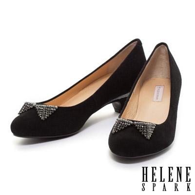 HELENE-SPARK-晶鑽立體蝴蝶結俏麗典雅高