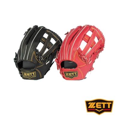 ZETT 3900系列全牛棒壘手套 野手通用 BPGT-3927
