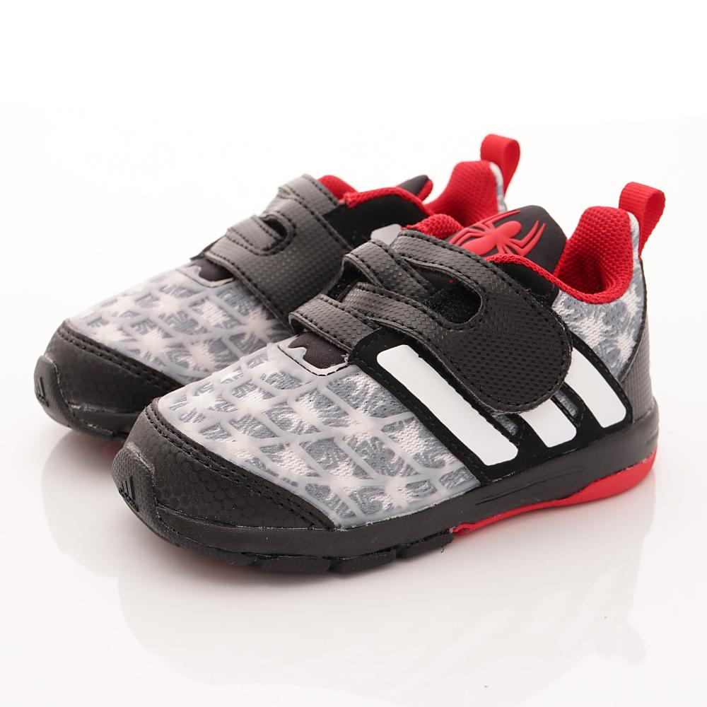 adidas童鞋-蜘蛛人聯名款-NI407白小童段HN