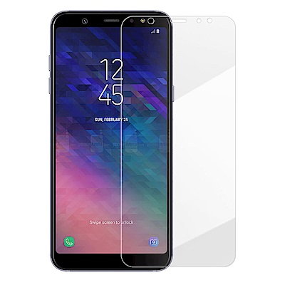 Metal-Slim Samsung Galaxy A6+ 2018 9H鋼化玻...