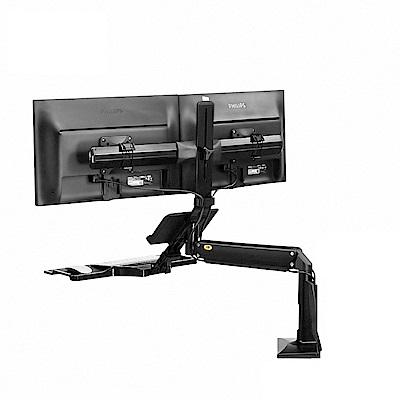 NB  19~24吋桌上型氣壓式液晶螢幕架/FC24-2A