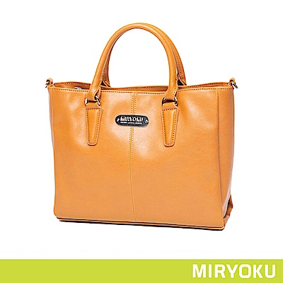 MIRYOKU / 典雅手提2WAY方包(共3色)