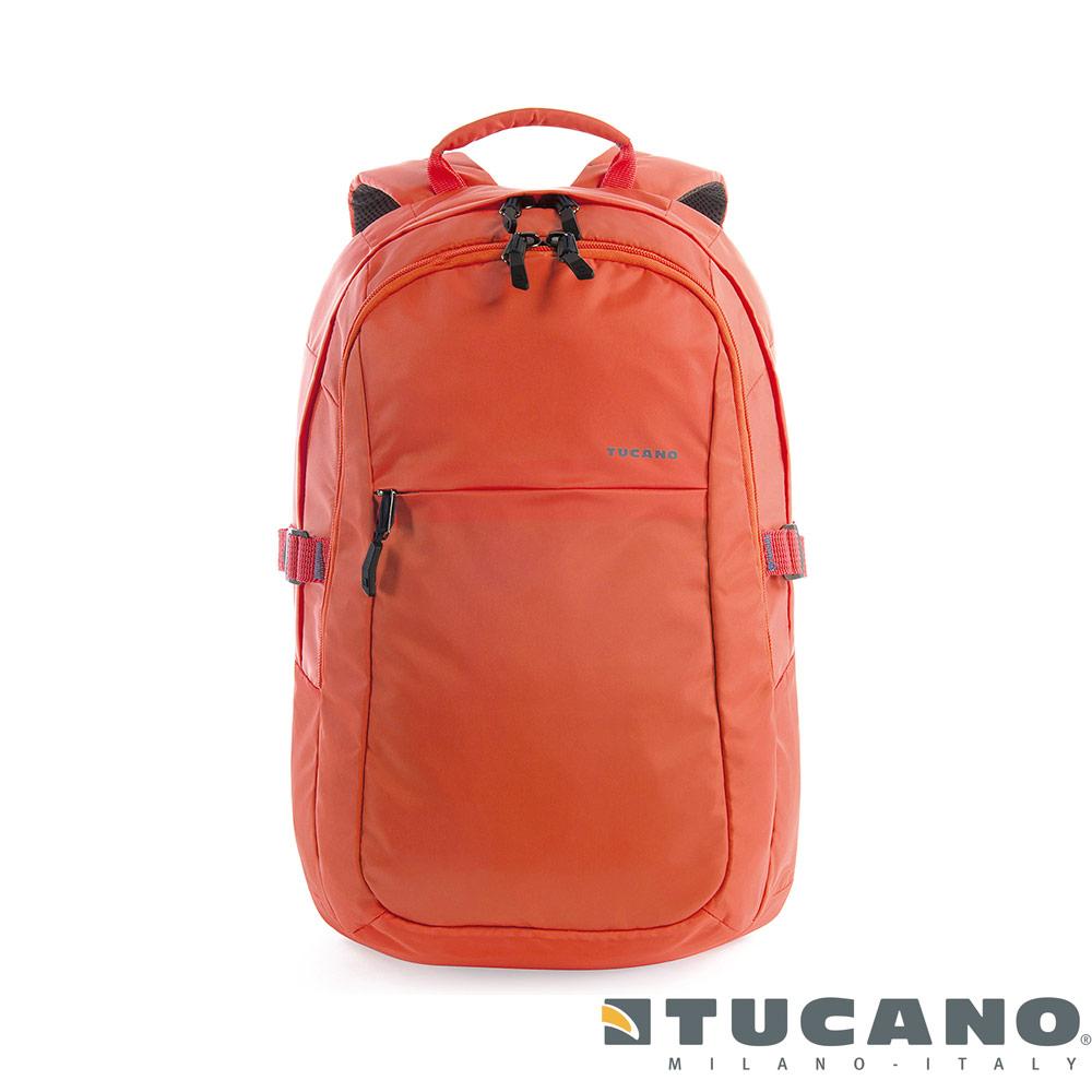 Tucano LIVELLO UP 昇級 15.6 吋多功能電腦後背包-橘色