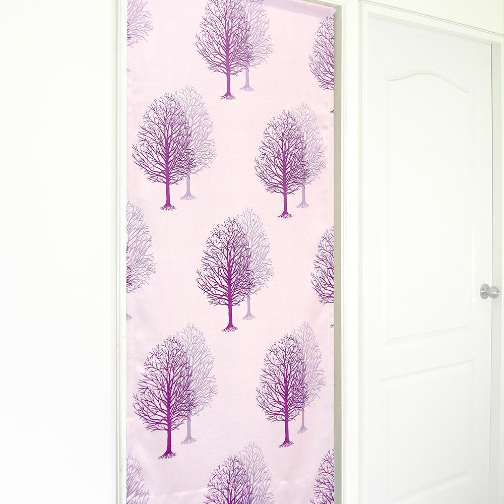 布安於室-雙影樹長門簾-紫色